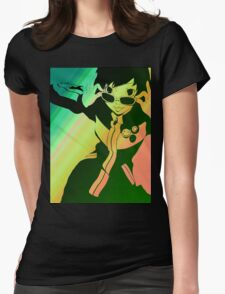 Persona 4 Chie Womens Fitted T-Shirt
