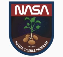 The Martian - Potato Science Program - White Clean by garudoh