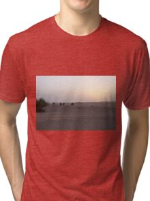 muted serenity Tri-blend T-Shirt