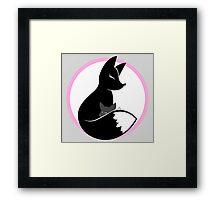 Fox momma Framed Print