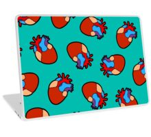 Anatomical Heart Pattern Laptop Skin