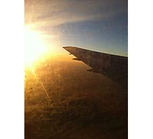 Airplane view Photographic Print