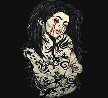 Tattoo Women Womens Fitted T-Shirt