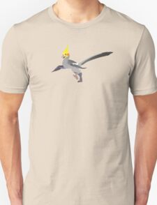Dino Birds - Grey Cockatiel T-Shirt