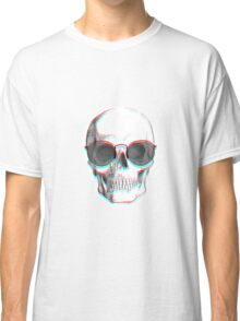 Hipster Skull Classic T-Shirt