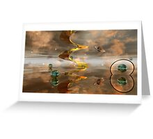 Birth of a Universe Greeting Card