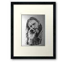 Rip Lemmy - madun Framed Print