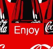 COCA-COLA 4 Sticker