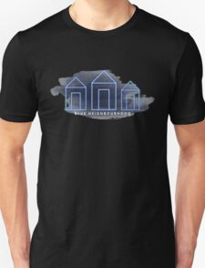 Blue Neighbourhood Watercolour  Unisex T-Shirt