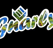 Gnarly Palm Trees Emblem by Gnar Brand