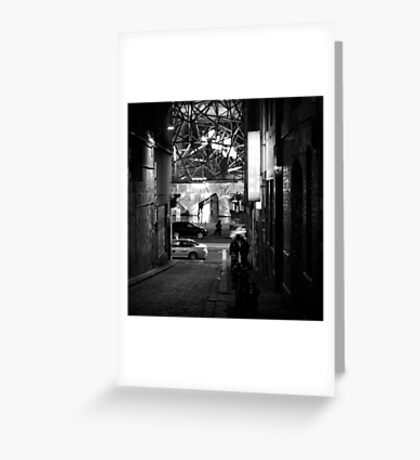 Sunday night in the city Greeting Card
