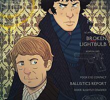 Sherlock by Devin Kraft