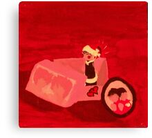 Anime RED Canvas Print