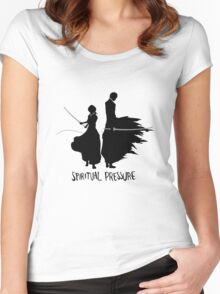 Spiritual Pressure Women's Fitted Scoop T-Shirt