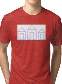 Blue Neighbourhood Neon Houses Tri-blend T-Shirt