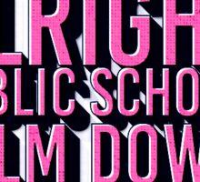 Public School Sticker