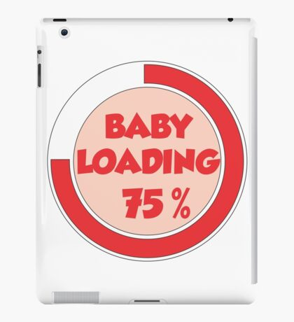 Baby loading iPad Case/Skin