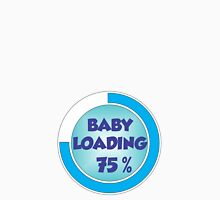 Baby Loading Blue Womens Fitted T-Shirt