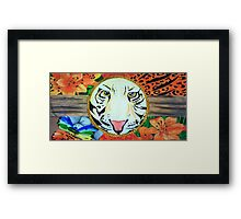 Asking for peace. Framed Print