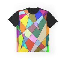 Rainbow Explosion Graphic T-Shirt