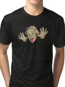 Albert Einstein Tri-blend T-Shirt
