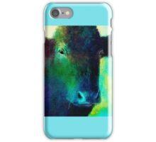Black Cow iPhone Case/Skin