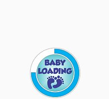 Baby Loading Blue 2 Women's Fitted Scoop T-Shirt