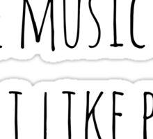 Music feelings Sticker
