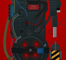 Ghostbusters Proton Pack by Devin Kraft