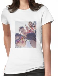 DNCE selfie Womens Fitted T-Shirt