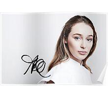 Alycia Debnam-Carey - TCAs 2016 (w/ sig.) Poster