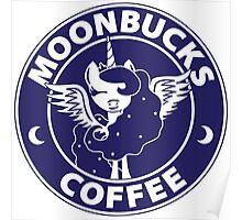 Moonbucks Coffee Poster