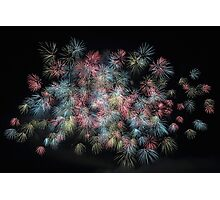 Fireworks Fine Art Photography 0025 Photographic Print