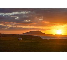 Clare Island Sunset Photographic Print