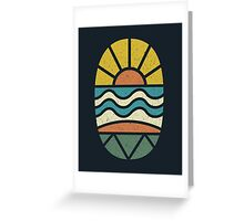Lets Go Surfing Greeting Card