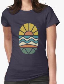 Lets Go Surfing Womens Fitted T-Shirt