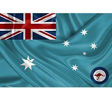 Royal Australian Air Force - RAAF Ensign Photographic Print