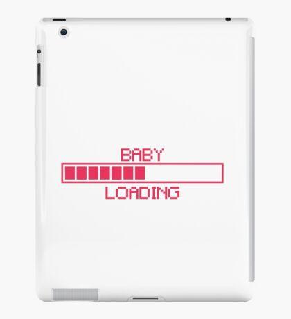 loading baby bar pink iPad Case/Skin