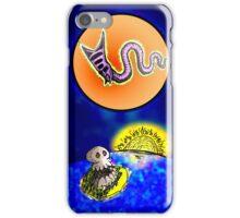 Space King Visits Skull Island iPhone Case/Skin