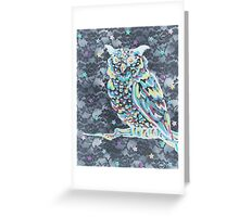 Lovely Night Owl Greeting Card