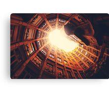 Ancient Building Sky Fine Art Photography 0030 Canvas Print