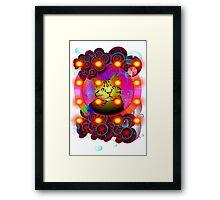 SUPER PUSSY:) Framed Print