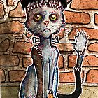 Frankenkitty, the reanimated cat by byronrempel