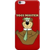 Yogi Master iPhone Case/Skin