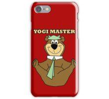 Yogi Master iPhone Case/Skin