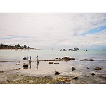 Indented Head Photographic Print
