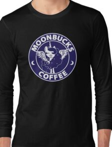 Moonbucks Coffee Long Sleeve T-Shirt