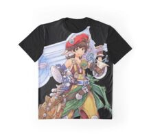 Luso Clemens from Final Fantasy Tactics A2: Grimoire of the Rift Graphic T-Shirt