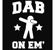 Dab On Em' Photographic Print