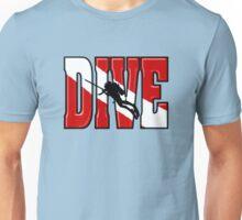 Big Scuba Dive Flag Original Unisex T-Shirt